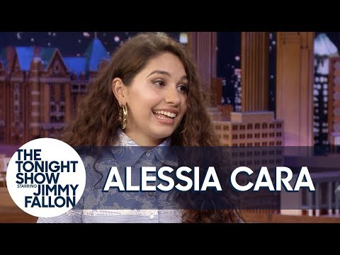 Never-Before-Seen Home Video of Alessia Cara Attempting Gymnastics