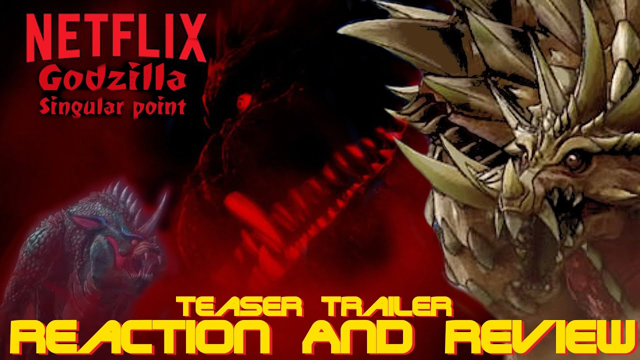 Netflix Godzilla: Singular Point Anime Teaser Trailer Reaction And Review