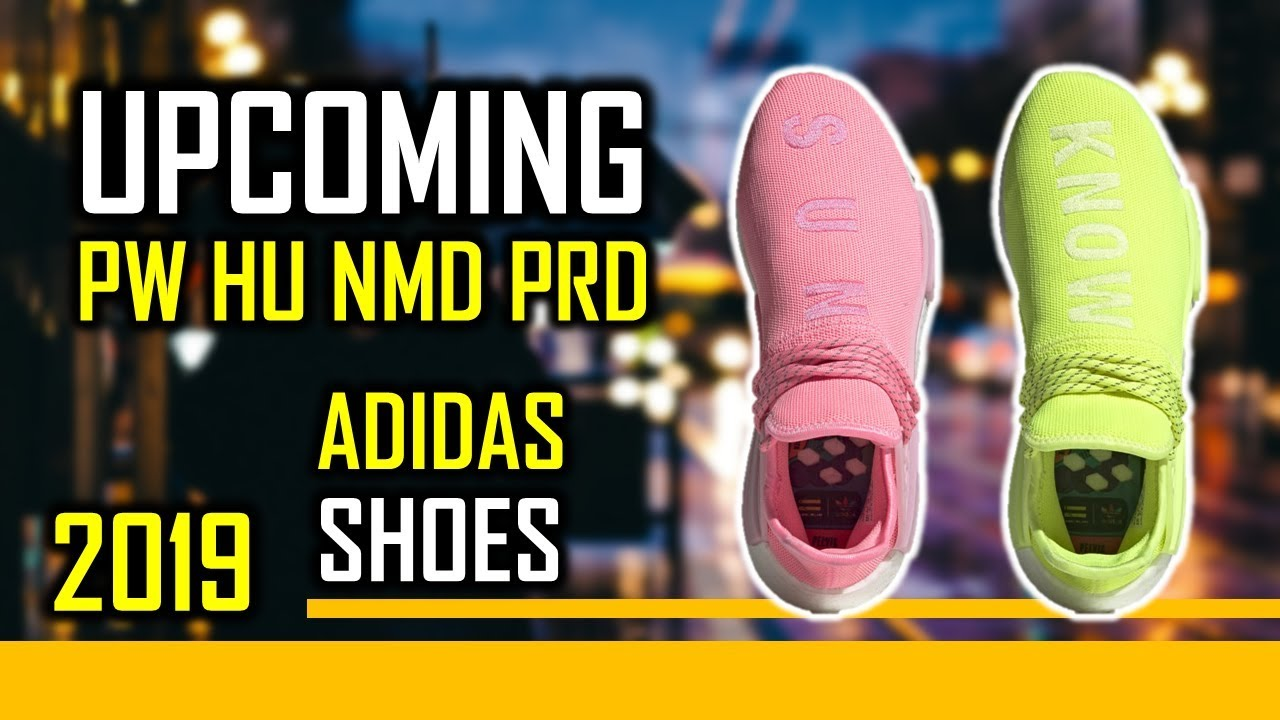 Upcoming Adidas PW HU NMD PRD Shoes