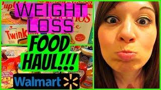 WEIGHT LOSS FOOD HAUL WALMART + YUMMIES!!!