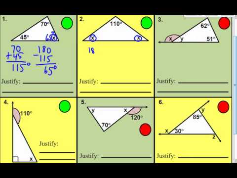 how to find the exterior angle of a triangle