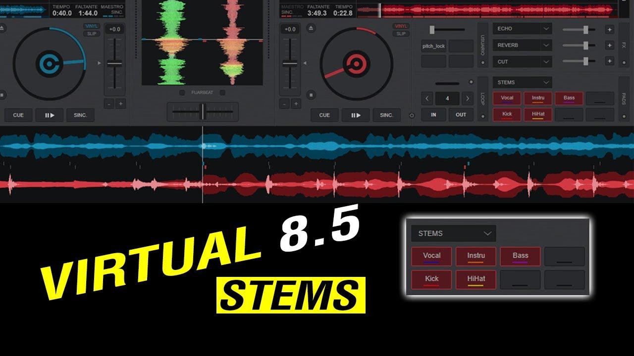 La Nueva función de VIRTUAL 8.5 2021 STEMS ✔