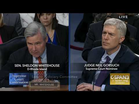 Sheldon Whitehouse Asks Why JCN Is Spending On Him And Was Against Garland 03:21:17