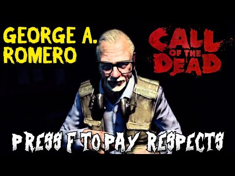 CALL OF THE DEAD ZOMBIES: GEORGE A. ROMERO PASSES AWAY AT  77 PRESS F TO PAY RESPECTS