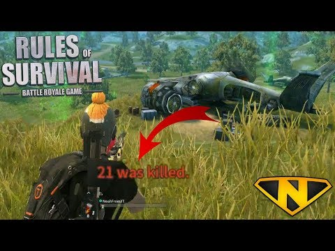 M14EBR is a Ground Weapon Now!? (Rules of Survival: Battle Royale #38)