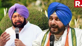 Open War Breaks Out In Congress, Capt Amarinder Singh Vs Sidhu Fight Gets Bigger