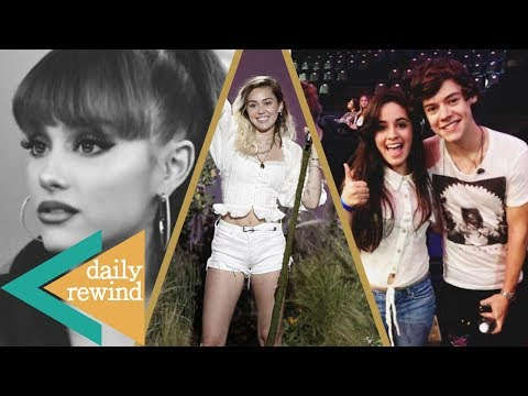 Ariana Grande Cancels Shows, Miley Cyrus' TOUCHING Tribute, Camila Cabello's 1D Secret -DR