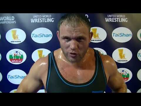 Two-time World Champ Heiki Nabi Interviewed Before the 2017 Greco-Roman World Championships Final