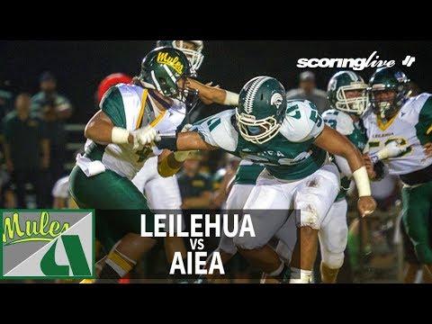 SL Replay | Leilehua vs. Aiea: OIA D1 Football (Sept. 21, 2018)