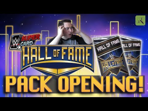 HALL OF FAME INSANE 100K PACK OPENING!! | WWE SuperCard