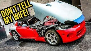 Cheap Lamborghini, Supra, Viper, And NEW SECRET PROJECT REVEALED?! | BIG GARAGE UPDATE