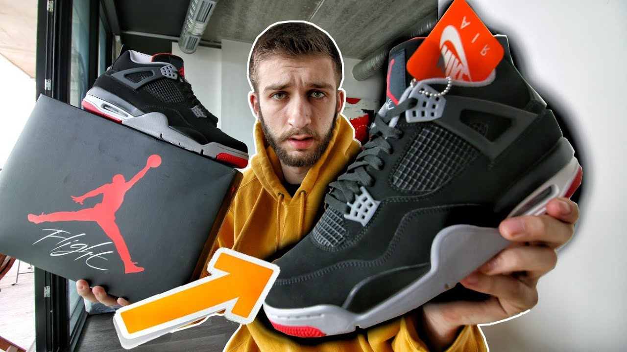 03ef43d5cb41b0 THESE DIDN T SELL OUT! AIR JORDAN 4 BRED BLACK CEMENT 2019 w  NIKE AIR  PICKUP REVIEW!
