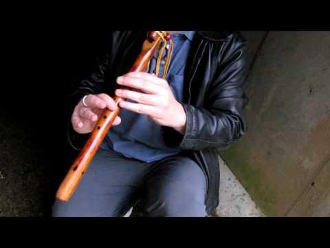 Warm Pheasantries: Kit Duncan Kentucky Rose Western Cedar Am 432 Hz. Flute