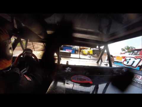 Brett McDonald Heat Race Lernerville Speedway 6/9/17 IN-CAR