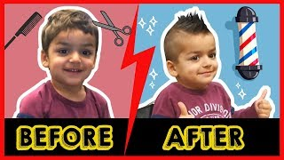 Cyrus Gets a Mohawk at SuperCuts in but Wanted a Spiderman Haircut