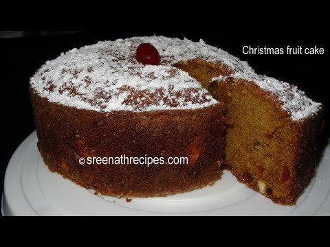How To Make Simple Fruit Cake In Pressure Cooker
