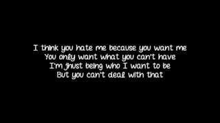 Repeat youtube video Halestorm - You Call Me A Bitch Like It's A Bad Thing (Lyrics)