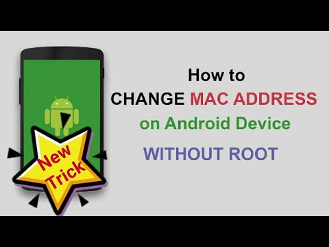 How to change Mac Address without root(2019) - YouTube