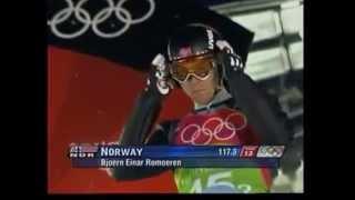 Bjoern Einar Romoeren 124,5m Io Pragelato 2006 Team