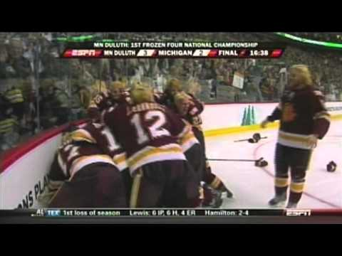 Minnesota Duluth Breaks Michigan's Heart