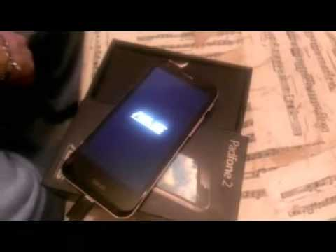 ASUS PADFONE 2 - Does not start the OS
