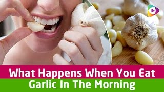 What Happens When You Eat Garlic In The Morning - Tubeston