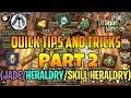 Dragon Nest M: Tips and Tricks Part 2 (JADE/SKILL HERALDRY/HERALDRY)