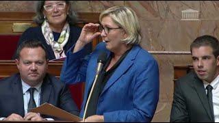 Marine Le Pen a voulu s'inviter dans