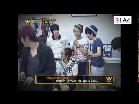 MNET Wide B1A4 For OMPHALOS [BTS & Interview]