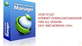Internet Download Manager Free All Version