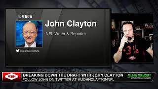 John Clayton Gives his 2020 NFL Draft Winners and Losers including the Bears, Raiders and Packers.