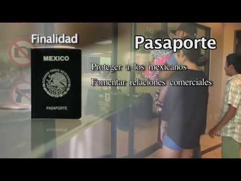 Pasaporte mexicano requisitos (Difusion y medios)