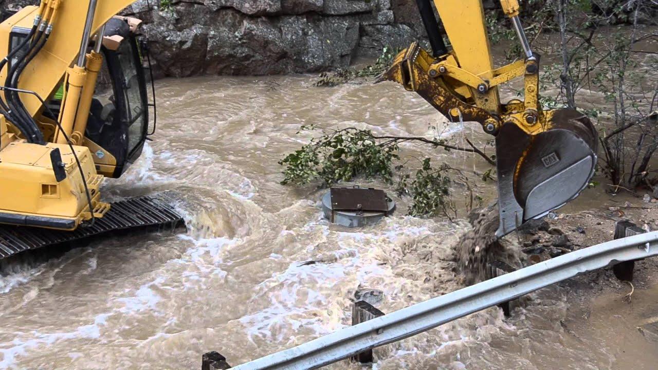 boulder colorado floods 2013 help has arrived  4 mile canyon pt3