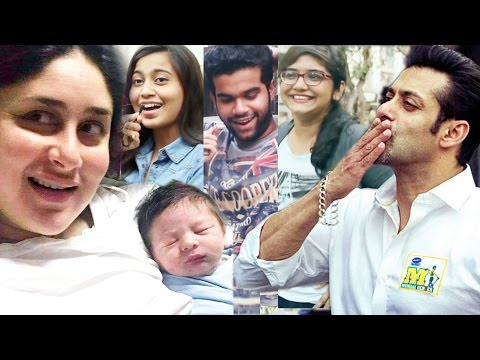 Salman Khan's FAN Celebrate His Birthday, Kareena Kapoor Share Tumair Ali Khan's First Picture