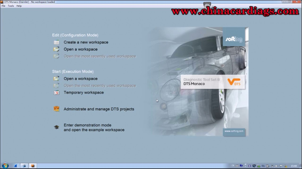 How to use vxdiag BENZ C6 for Mercedes DTS programming