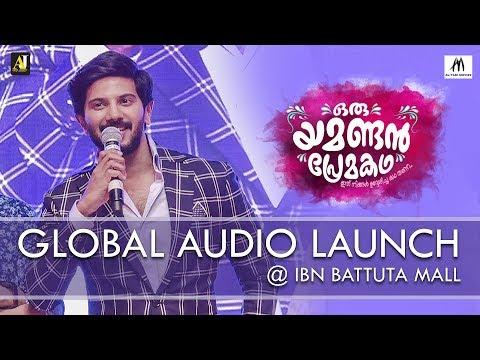Oru Yamandan Premakadha | Global Audio Launch @ Ibn Battuta Mall | Dulquer Salmaan