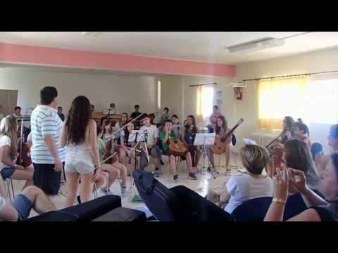 Estada a La Victòria alumnes Conservatori municipal de Palma