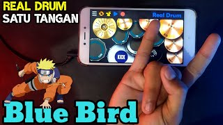 DJ BLUE BIRD - REAL DRUM COVER (REAL DRUM SATU TANGAN COVER)