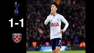 Download Video TOTTENHAM vs WEST HAM 1-1 • All Goals & Hightlights | FOOTBALL HIGHLIGHTS MP3 3GP MP4