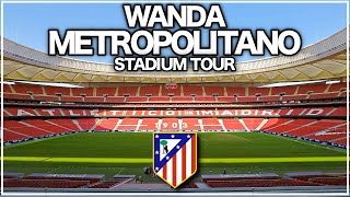 TOUR Wanda Metropolitano 4K Sede Final Champions League Madrid 2019!🇪🇸