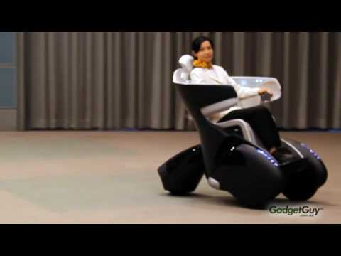 Toyota I Real Personal Mobility Concept Vehicle Youtube