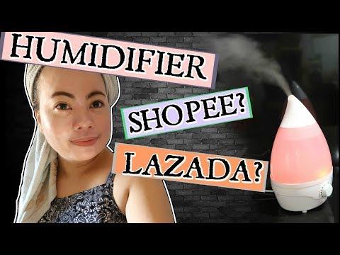 HUMIDIFIER - ULTRASONIC AIR PURIFIER | SHOPEE OR LAZADA? | #57