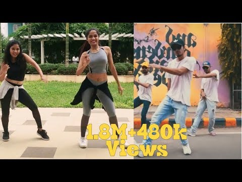 Top 2 Despacito Dance Choreography  in India l Gaurav n Chandni l Live to dance with sonali