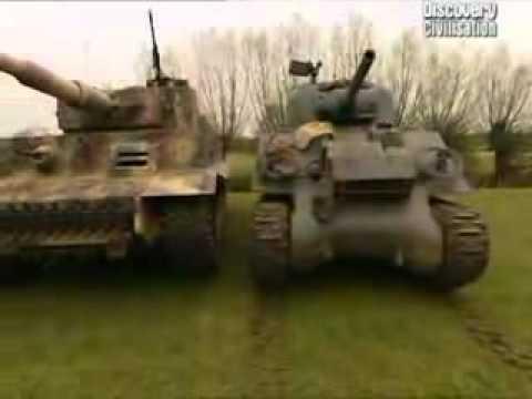 King tiger tank vs sherman - photo#8
