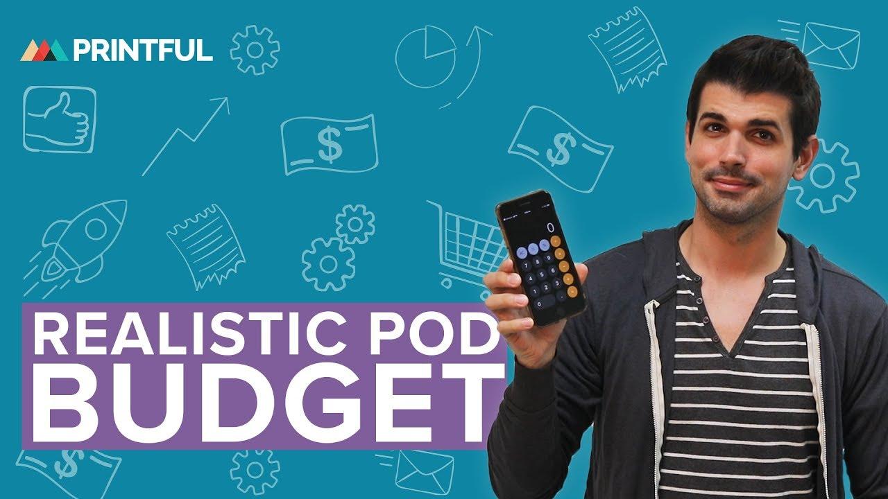 REALISTIC Print-On-Demand Startup Budget 2020