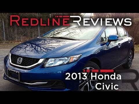 2013 Honda Civic Review, Walkaround, Exhaust, Test Drive