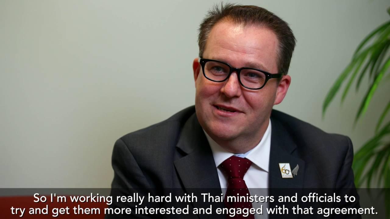 Ben King New Zealand Ambador To Thailand Cambodia And Laos You