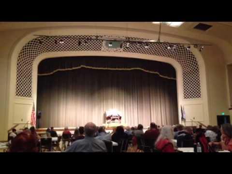 """Summertime"" organ concert, Colorado Springs, May 2016"