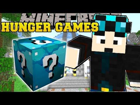 Minecraft: DANTDM LAB HUNGER GAMES - Lucky Block Mod - Modded Mini-Game