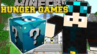Minecraft: DANTDM LAB HUNGER GAMES - Lucky Block Mod - Modded Mini-Game